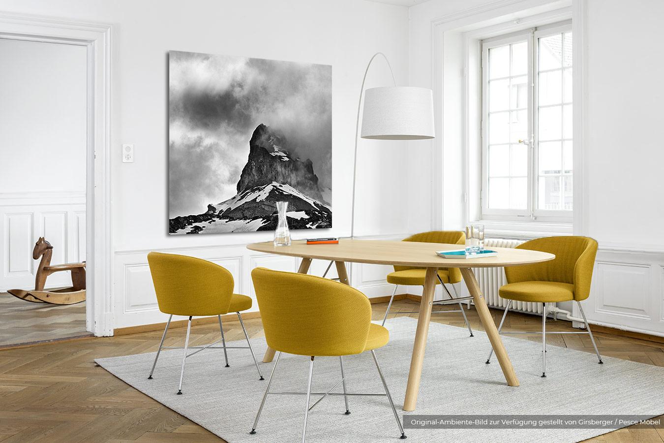 Fotografie triff Design - schwarz/weiss